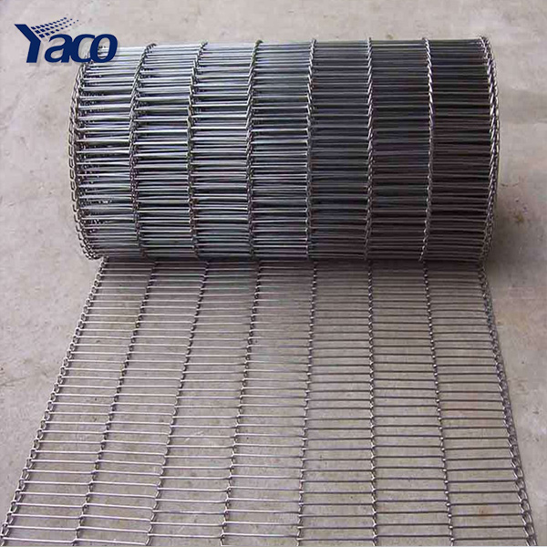 Food grade SS304 316 2.5mm wire <strong>Z</strong> type conveyor belting price
