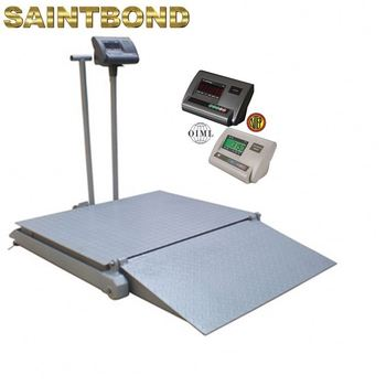 Unique design, low power consumption stainless steel structure cover mat floor scale