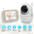 2019 3.2 INCH LCD DIGITAL WIRELESS VIDEO BABY MONITOR WITH ROTATING PAN-TILT-ZOOM