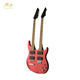 Factory sale red color double neck double bass