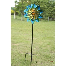 outdoor stained metal decorative garden ornaments <strong>windmill</strong>