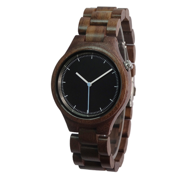 Natural Bamboo wood watches for men women custom logo as the best gift China factory wholesale wood watch