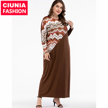 5427-1#ladies long sleeve maxi casual <strong>manufacture</strong> formal plus size women muslim dress