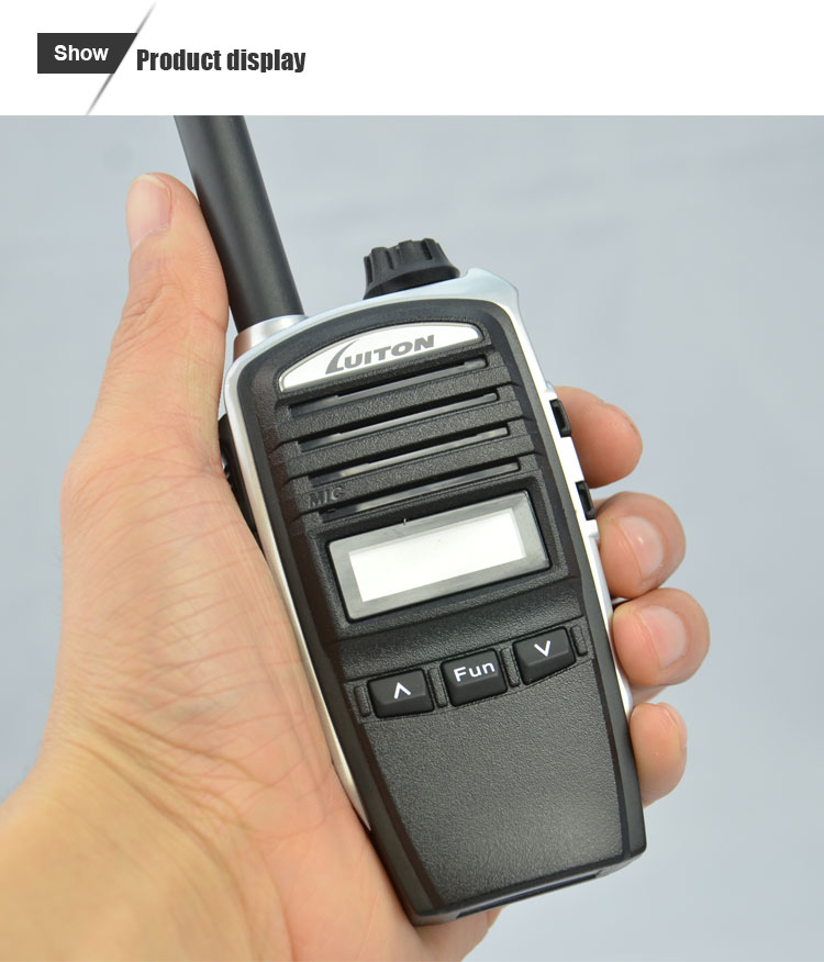 mini fm radio receiver LT-002PMR pmr 446 walkie talkie