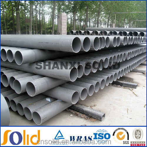 Supplying high quality clear PVC water pipe 200mm