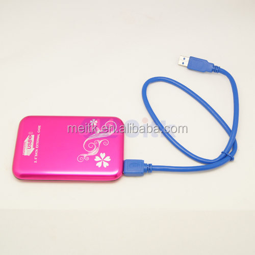 usb 2.5 inch sata usb 3.0 external case with high quality and low price