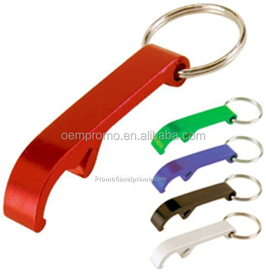 PROMO Customized Cheap Promotional Metal Keychain Bottle Opener