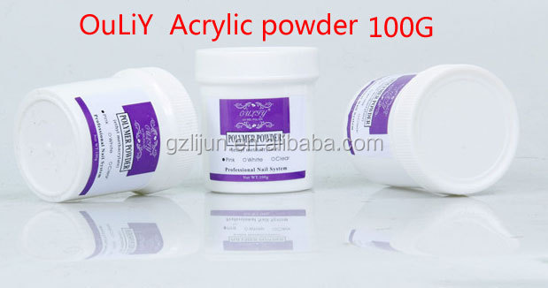C2-005 100G Acrylic powder ,three colors .Polymer Powder