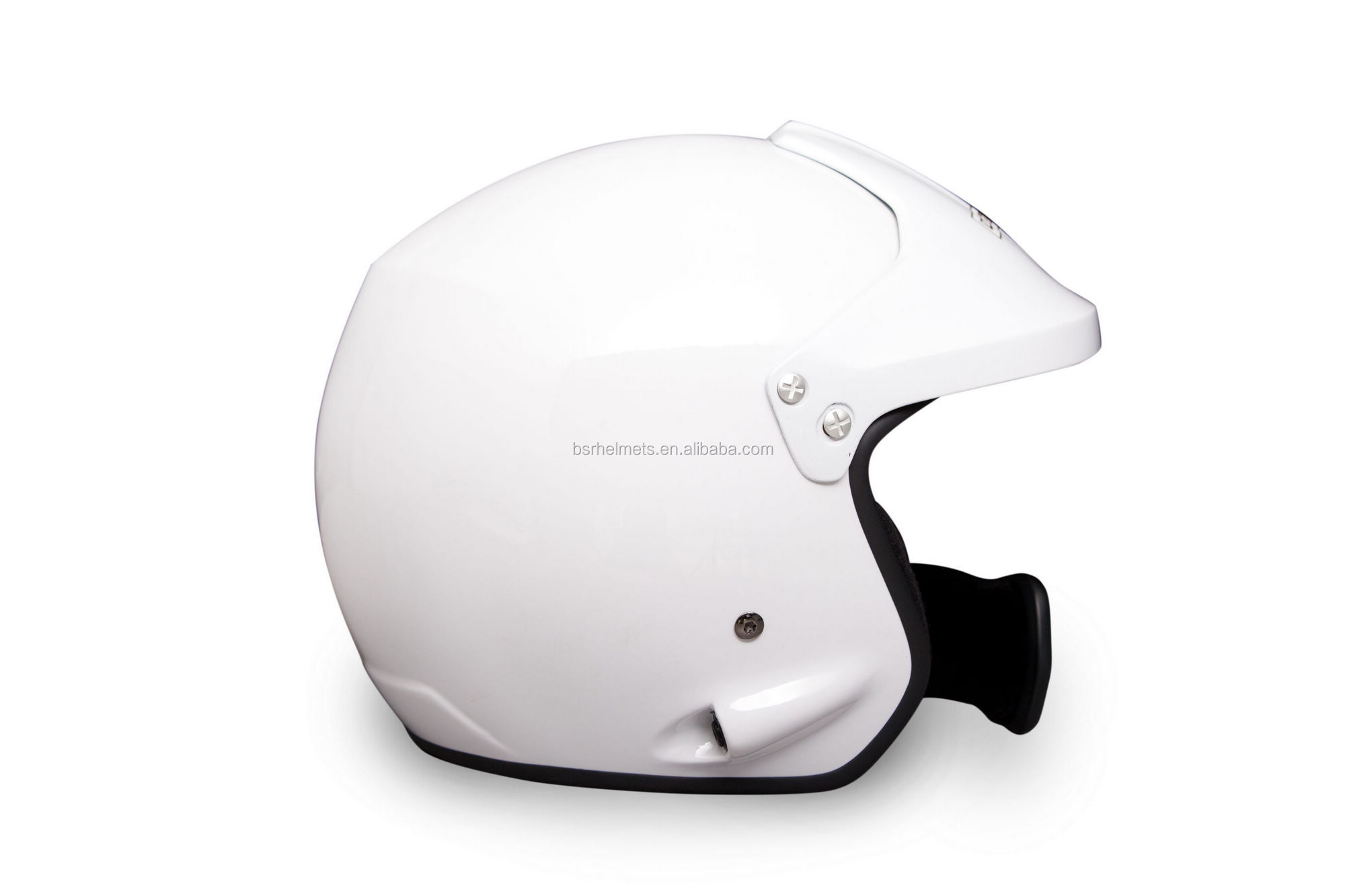 open face helmet for car rally race with SNELL SAH2010 standard