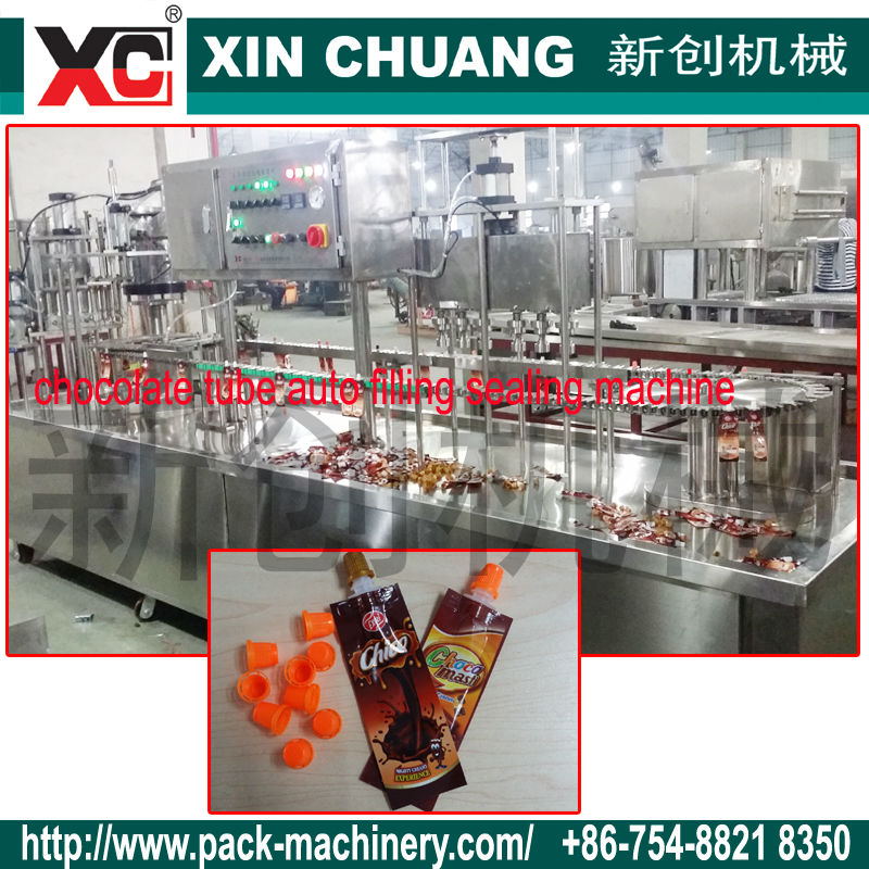 2014 New Aluminum Foil Pouch For Chocolate Filling Machine