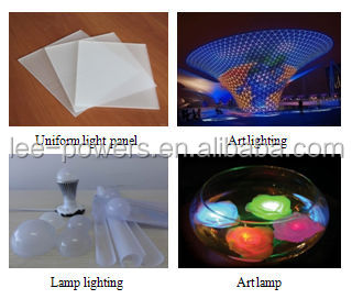 PC light diffusing material