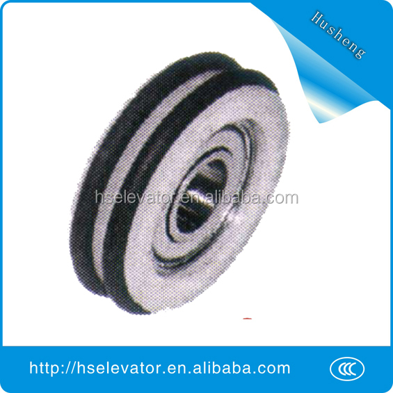 Good elevator door belt pulley lift elevator pulley wheel