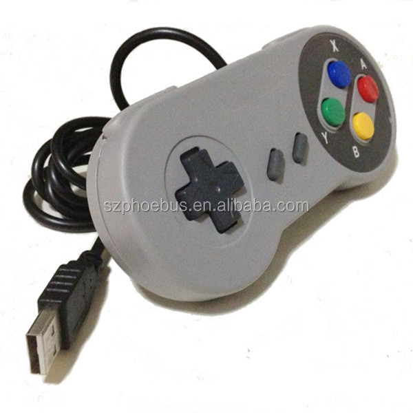 Hot selling controllers SNES controller USB snes joystick working on PC