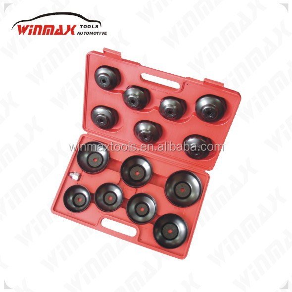 "WINMAX 14PCS Cup Type Oil Filter Wrench 3/8"" WT04017"