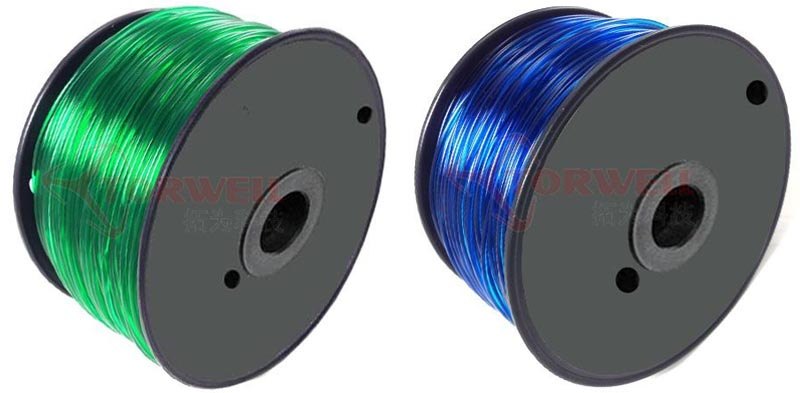 PETG 3D filament, T-glase filament, 1.75mm / 3mm T-glase filament for 3D printing