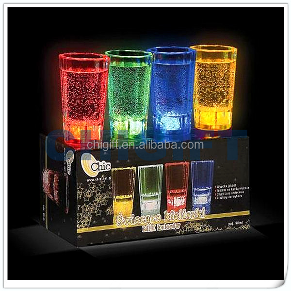 Liquid Activated LED Shot Cup