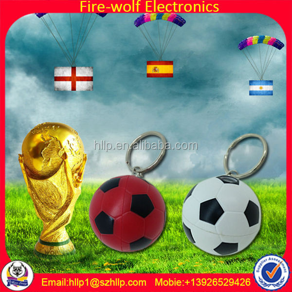 Promotion ball keychain / projector logo key ring / China ball keyring Manufacturer