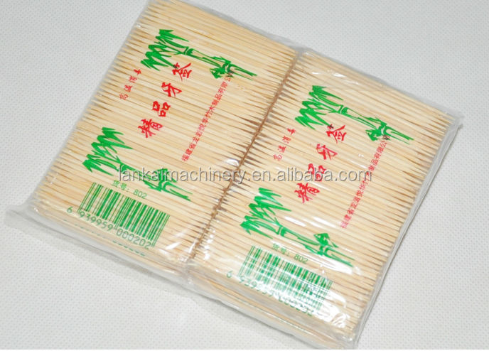 high efficiency bamboo toothpick making machine with low price