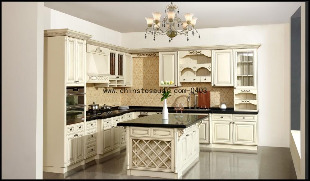 Moderne hoogglans blauwe keuken kastontwerp u vorm for Keukenkast ontwerpen