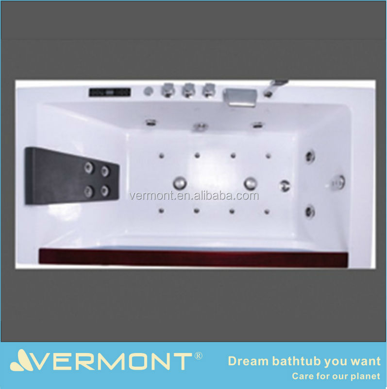 modern comfortable massage bathtub