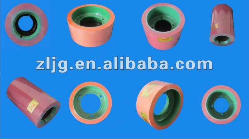 6 inch rice milling machine rubber roller