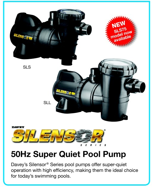 Australia Davey Hot Silensor Electric Black Water Pump 50hz