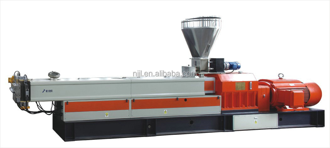 Twin screw non woven fabric color masterbatch machine