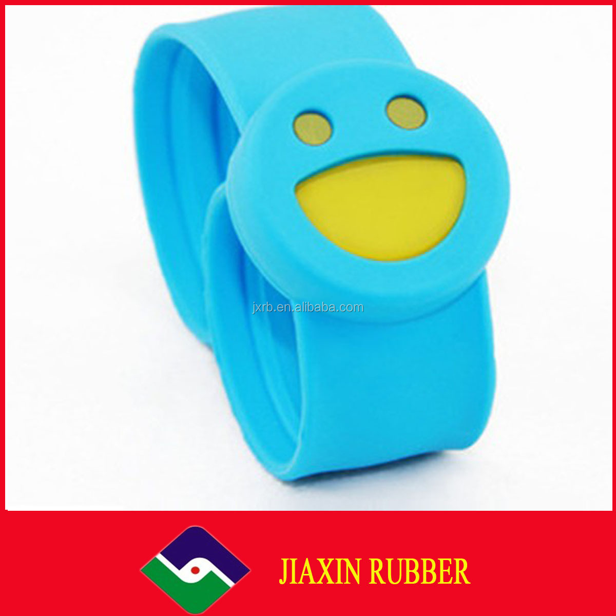 2014 factory supply and logo can custom silicone rubber wristband bracelet with holes