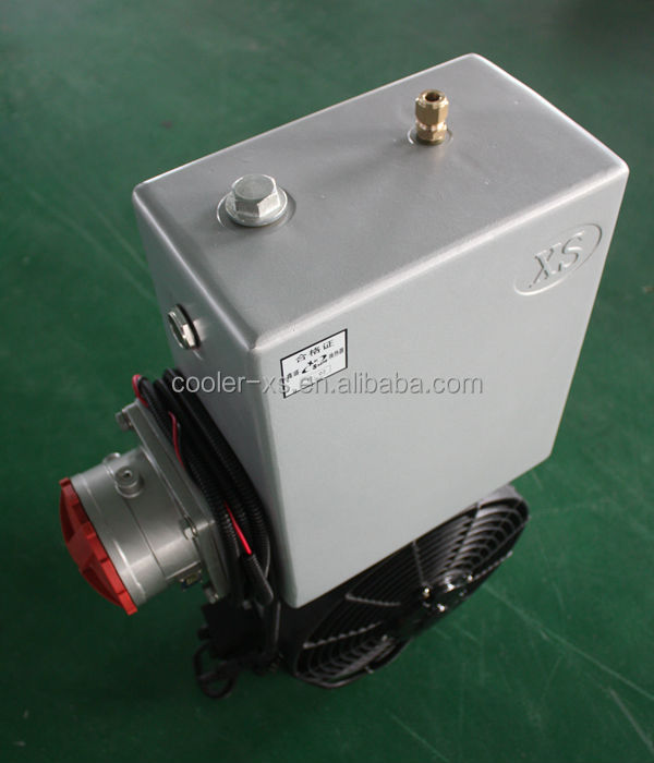 oil cooler for mixer truck