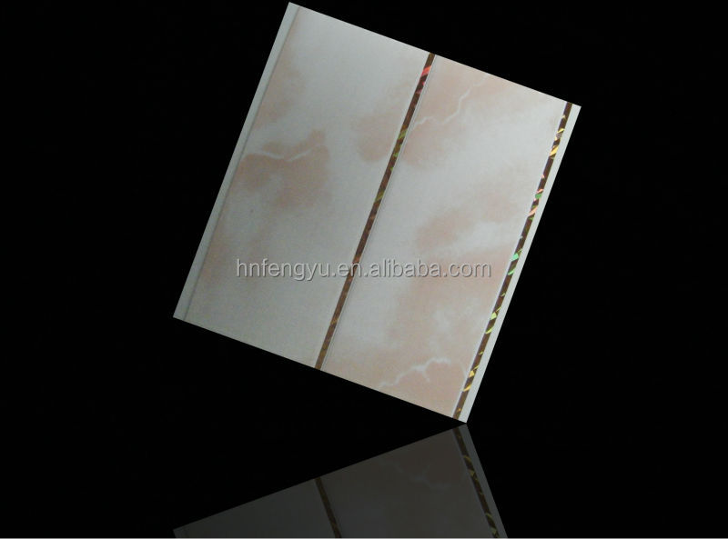 2014 waterproof printed pvc ceiling boards with groove & pvc ceiling panel for bathroom