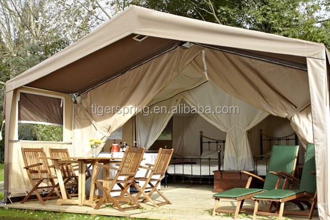 Luxury canvas family camping tents sale
