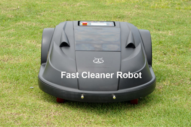 2017 Newest Lawn Mower Robot With NEWEST WIFI APP Control directly by your SMARTPHONE+Water-Proofed Charger