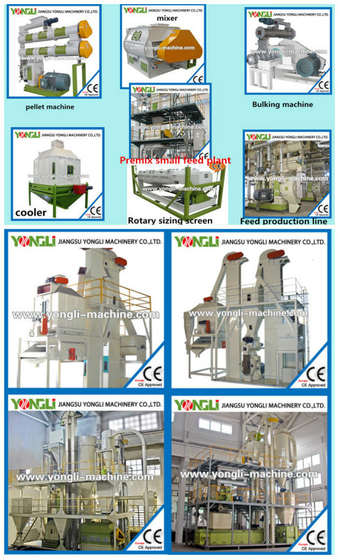 CE Approved high output animal feed mixing machine