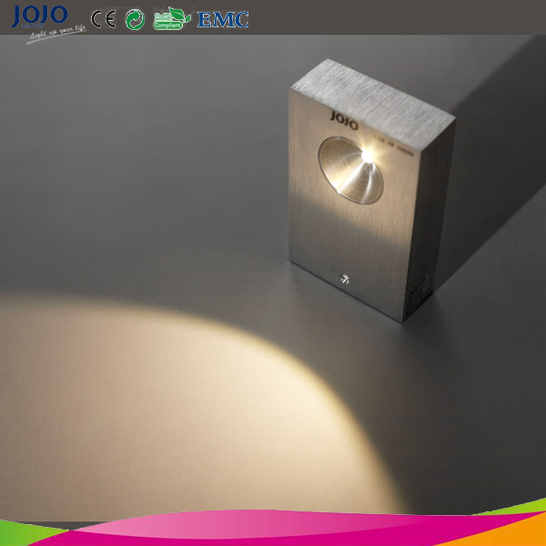2*4.5w Square Box Shape Up And Down Wall Lighting Fixture For Residential - Buy Wall Lighting ...
