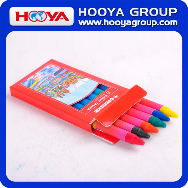 8*90mm cheap stationery multi color promotion wholesale Crayon