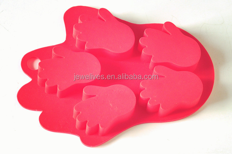Factory supply freezer safe silicone ice mold owl