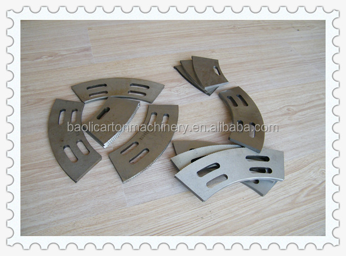 corrugated paperboard slotting knife slotter open grooving knife blade with 60 degree or 30 degree