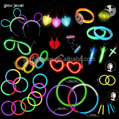 Glow in the dark jewelry G-W085