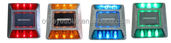 IP68 Aluminum LED Solar road stud