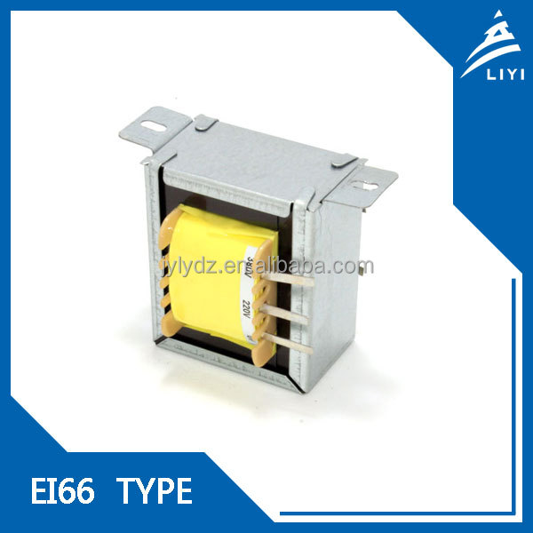 EI66 electric power transformer 220v 12v from Chinese Factory