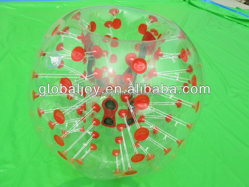 2015 Hot selling soccer bubble/TPU inflatable bumper ball for sale,stock human bubble ball