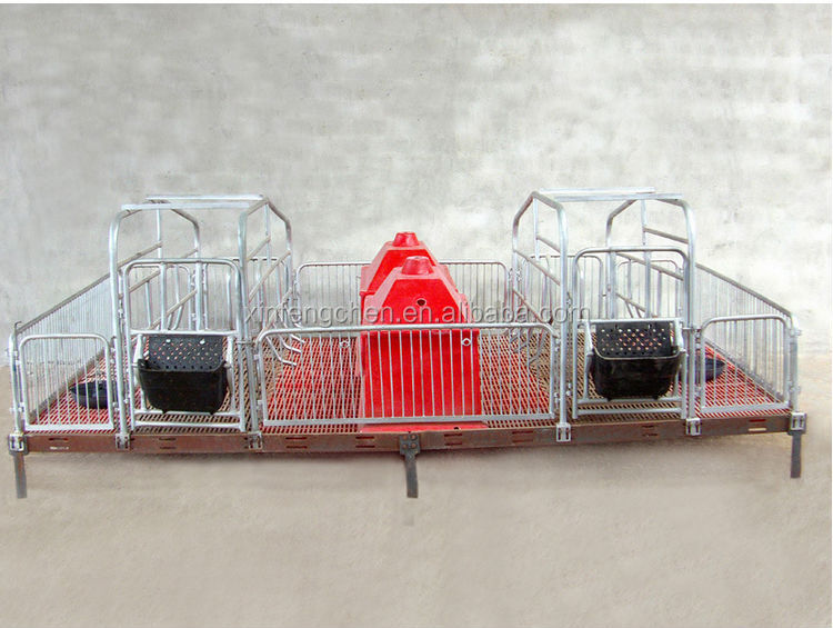 Overall Hot-dip Galvanized Pig Farrowing crate