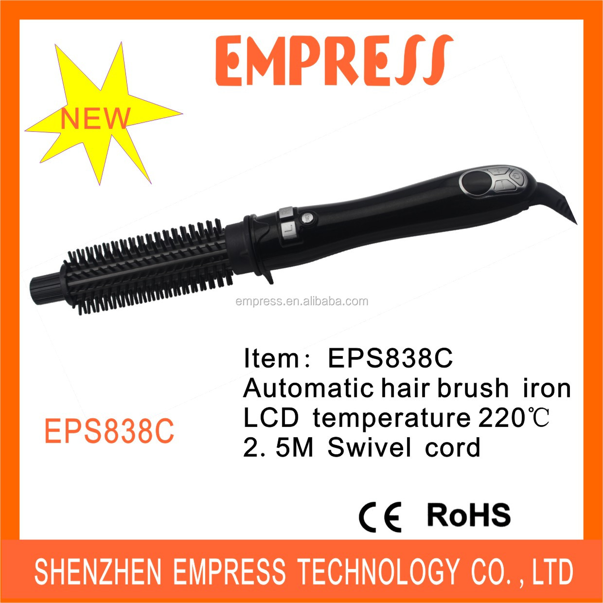 2014 Professional Automatic Rotating Ceramic Hair Curlers EPS838A