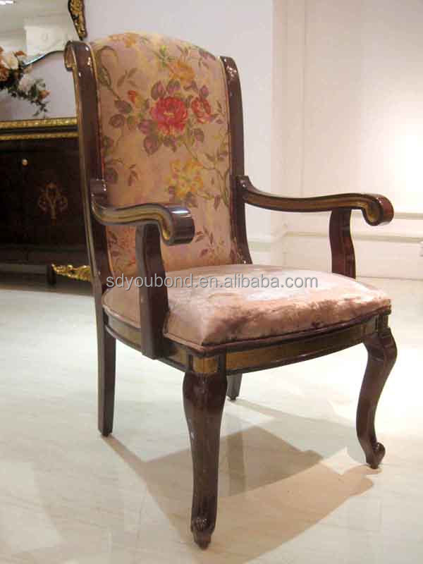 0063 high quality italian style luxury solid wood dining for Dining chair styles names