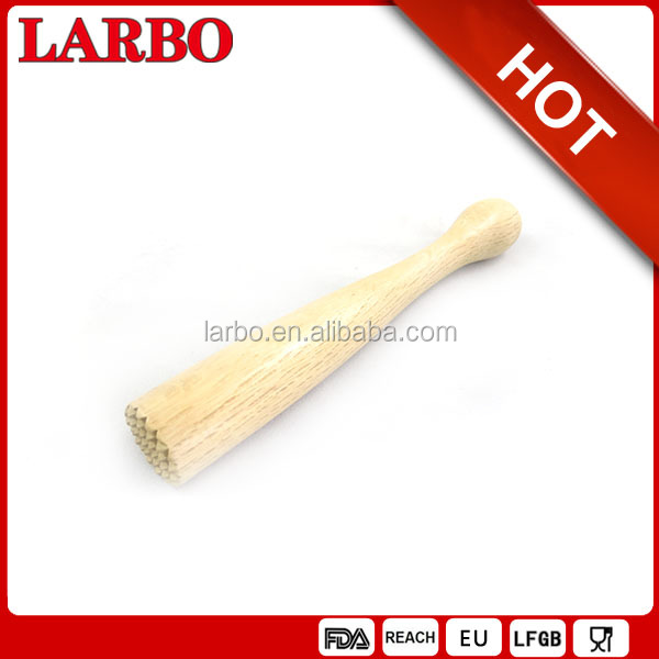 19cm wooden cocktail stirrer