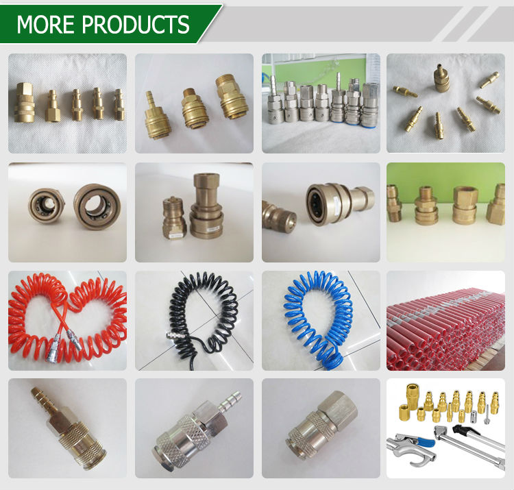 Professional cleaning hydraulic equipment connection fittings