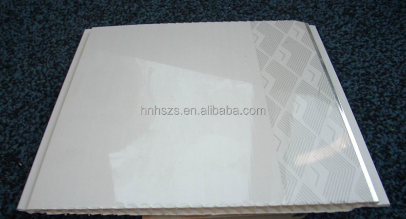 Roofing Material PVC Plain White Ceiling Tiles