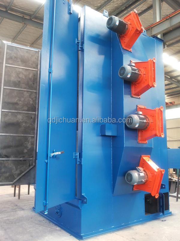 rotary hook type shot blasting machine