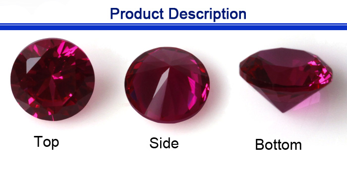 1.6mm aaa grade round luxury jewelry gemstone