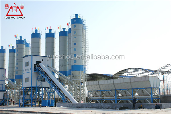 Concrete Mixing Plant from 25m3/h to 240m3/h